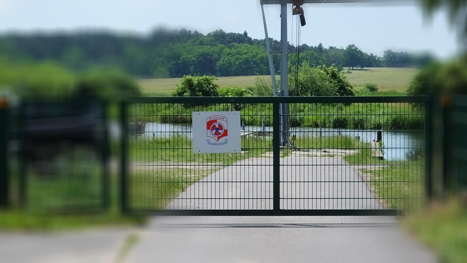 MYWSC Schwielochsee - Zufahrt Slipanlage